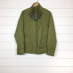 Horny Toad Swept Away Utility Jacket Green